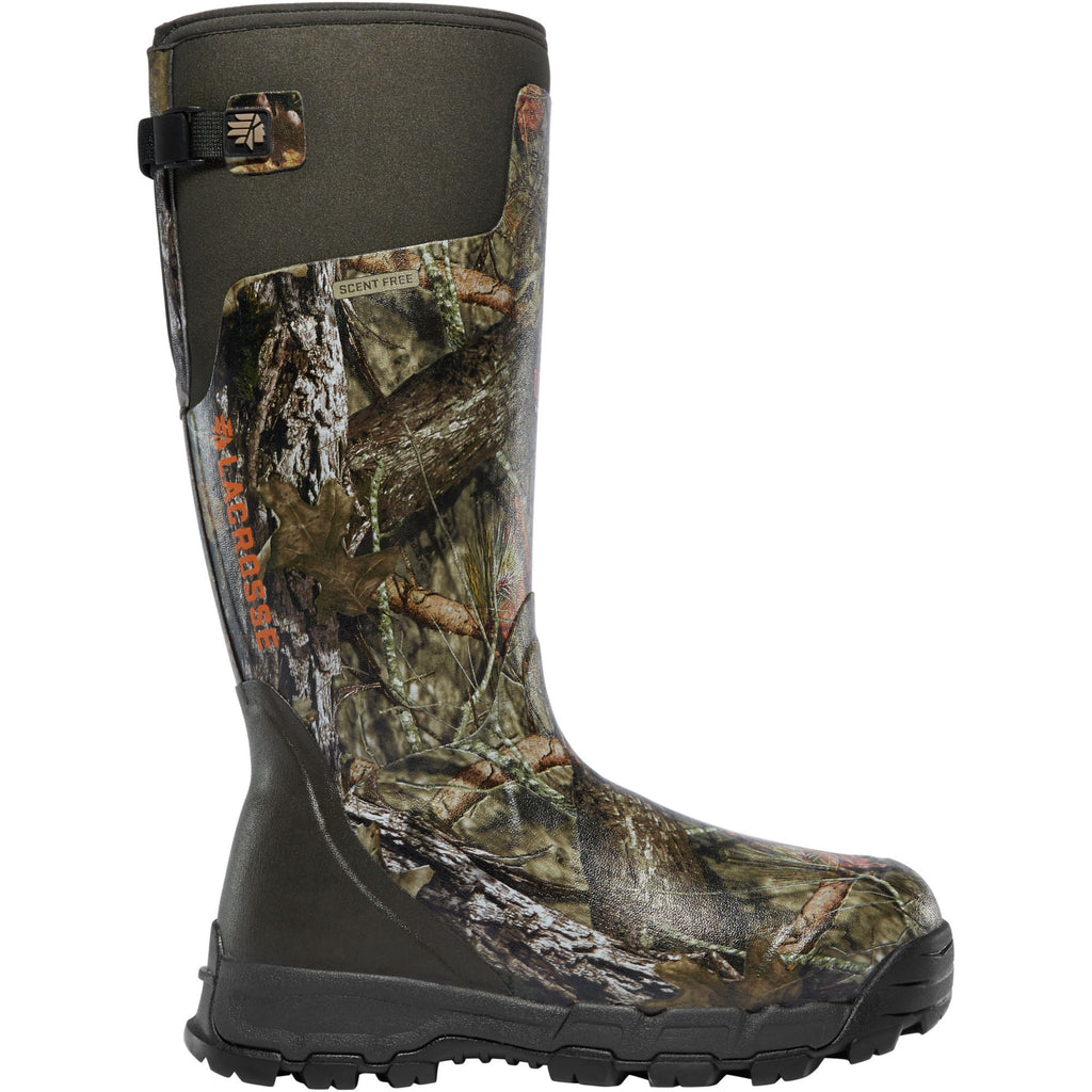 "LaCrosse Men's Alphaburly Pro 18"" Ins Rubber Hunt Boot Camo - 376029 7 / Mossy Oak - Overlook Boots"
