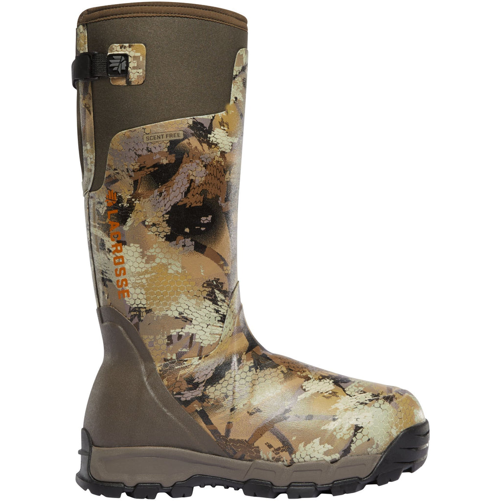 "LaCrosse Men's Alphaburly Pro 18"" Ins Rubber Hunt Boot - Camo - 376037  - Overlook Boots"