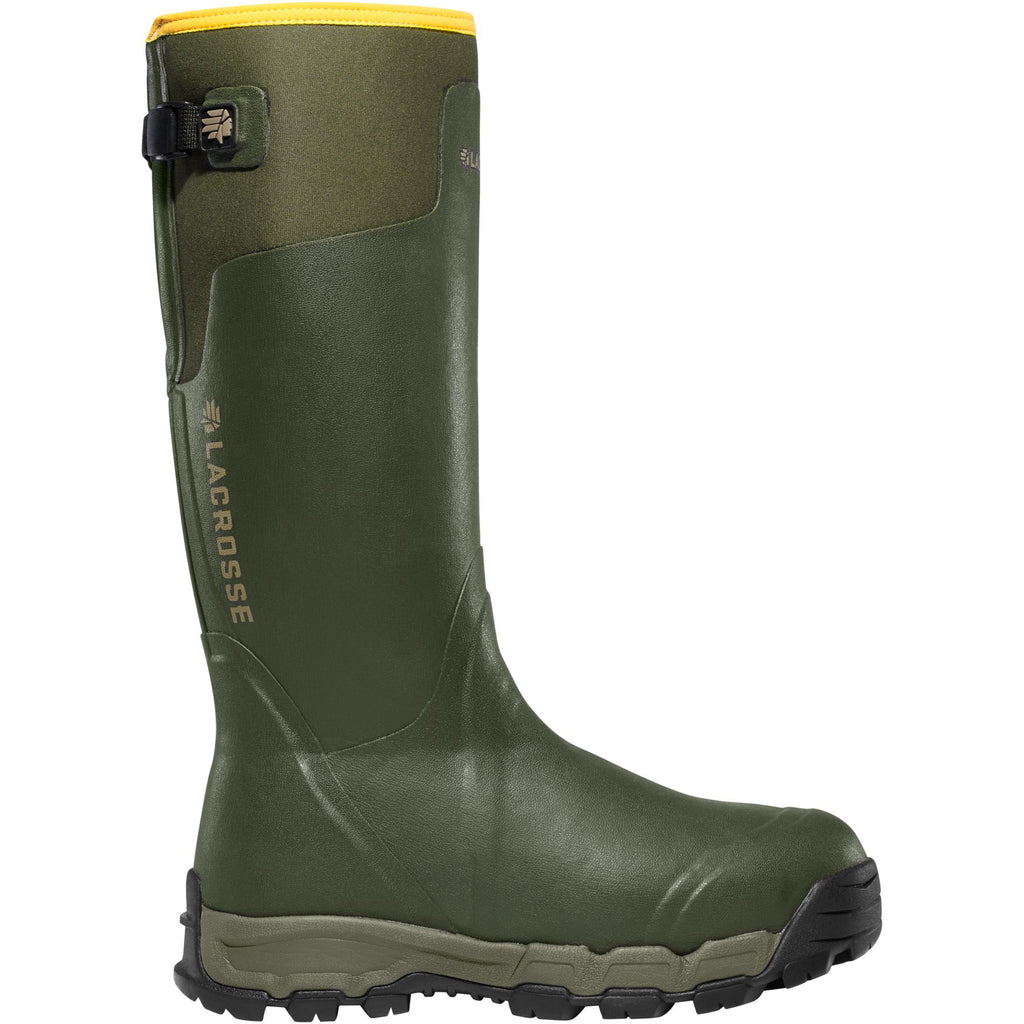 "LaCrosse Men's Alphaburly Pro 18"" Ins Rubber Hunt Boot - Green - 376011 7 / Green - Overlook Boots"