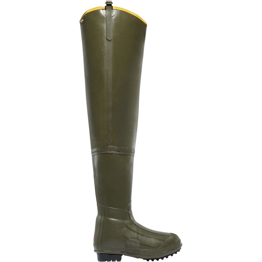 "LaCrosse Men's Big Chief 32"" OD Ins Rubber Work Boot - Green - 700001 7 / Green - Overlook Boots"