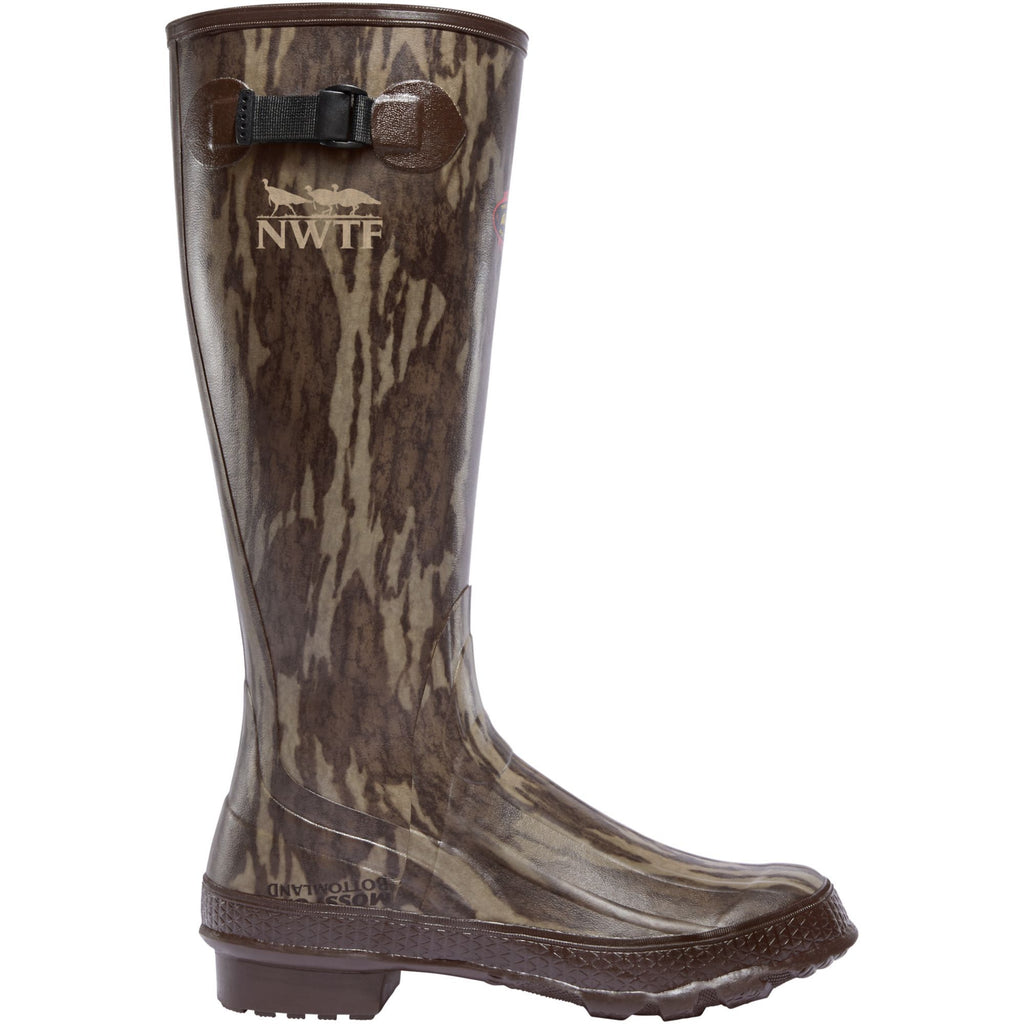 "LaCrosse Men's Grange 18"" Rubber Hunt Boot - Mossy Oak - 322142 7 / Mossy Oak - Overlook Boots"