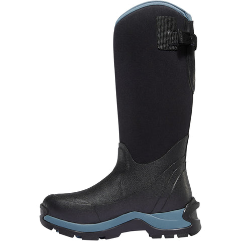 "LaCrosse Women's Alpha Thermal 14"" Ins Rubber Work Boot Black - 644105  - Overlook Boots"