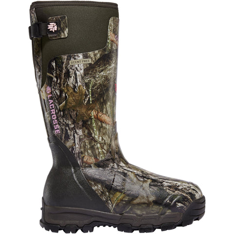 "LaCrosse Women's Alphaburly Pro 15"" Ins Rubber Hunt Boot Camo - 376031  - Overlook Boots"