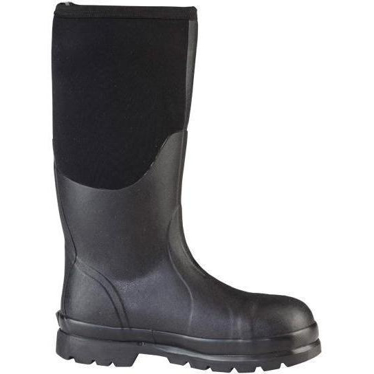 "Muck Men's Chore 16"" Steel Toe Waterproof Work Boot - Black - CHS-000A  - Overlook Boots"