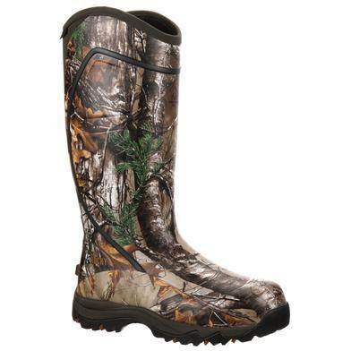 "Rocky Men's Core 16"" Ins Rubber Waterproof Hunt Boot - Camo - RKYS060  - Overlook Boots"