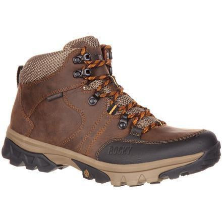 Rocky Men's Endeavor Point Waterproof Outdoor Boot - Brown - RKS0300 8 / Medium / Brown - Overlook Boots