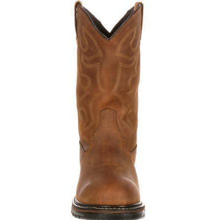 Rocky Men's Original Ride Branson Roper Western Boot - Brown FQ0002733  - Overlook Boots