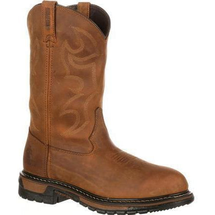 Rocky Men's Original Ride Branson Roper Western Boot - Brown FQ0002733 7.5 / Medium / Brown - Overlook Boots