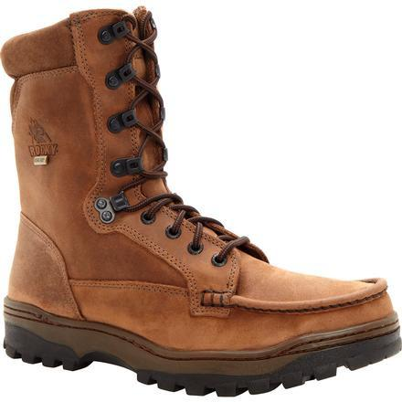 "Rocky Men's Outback 8"" Gore-Tex WP Hiker Boot - Brown - FQ0008729 8 / Medium / Brown - Overlook Boots"