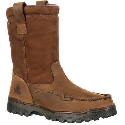 Rocky Men's Outback Gore-Tex WP Wellington Hunting Boot Brown RKS0255 8 / Medium / Brown - Overlook Boots