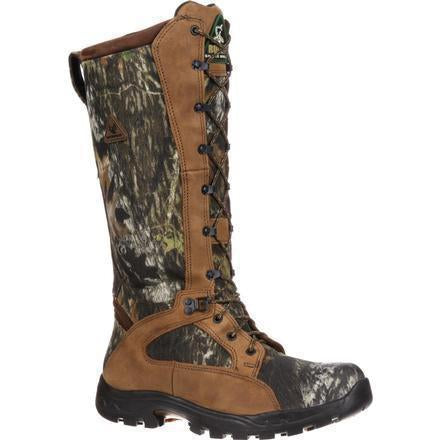 "Rocky Men's Snakeproof 16"" WP Hunting Boot - Mossy Oak - FQ0001570 7.5 / Medium / Mossy Oak - Overlook Boots"