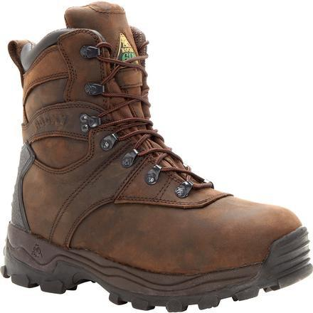 Rocky Men's Sport Utility Pro WP Ins Hunting Boot -Brown -  FQ0007480 8 / Medium / Brown - Overlook Boots