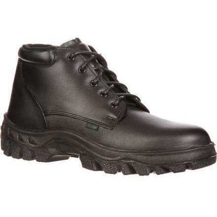 Rocky Men's TMC Postal Approved Chukka Duty Boot - Black  - FQ0005005 7.5 / Medium / Black - Overlook Boots