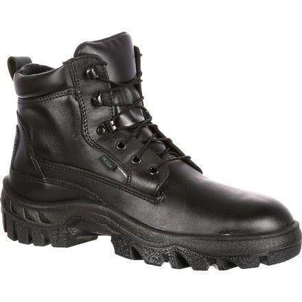 Rocky Men's TMC Postal-Approved Duty Boot - Black  - FQ0005019 7.5 / Medium / Black - Overlook Boots