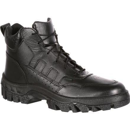 Rocky Men's TMC Postal-Approved Sport Chukka Duty Boot Black FQ0005015 7.5 / Medium / Black - Overlook Boots