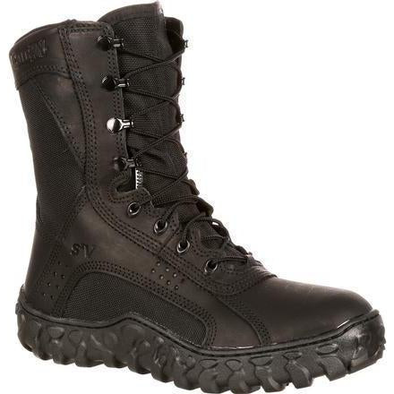 Rocky Men's USA Made S2V Tactical Military Boot - Black - FQ0000102 7.5 / Medium / Black - Overlook Boots