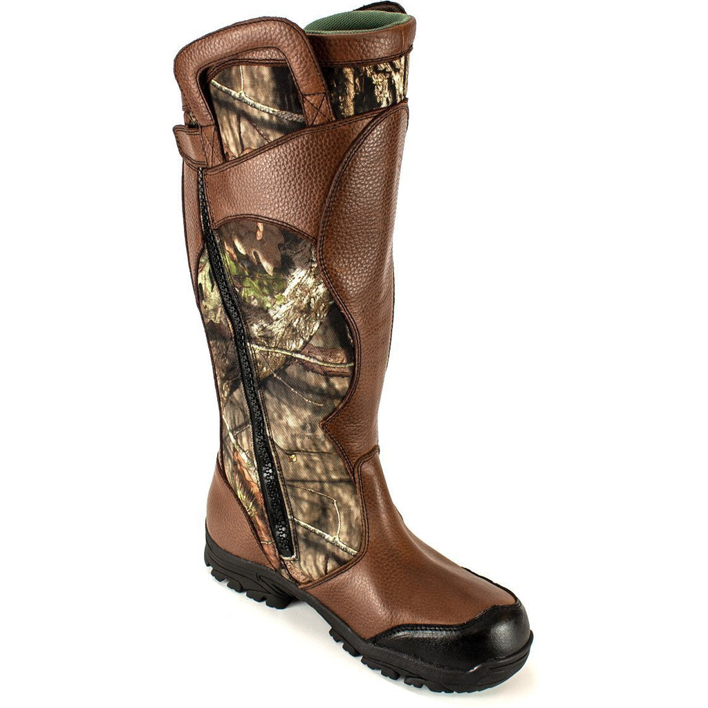 "Thorogood Men's 17"" WP Snake Hunt Boot - Mossy Oak - 864-4067 8 / Medium / Mossy Oak - Overlook Boots"