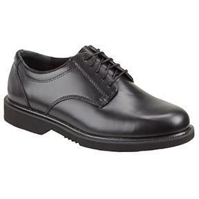 Thorogood Men's Classic Academy Oxford Duty Shoe - Black - 834-6041 7 / Medium / Black - Overlook Boots