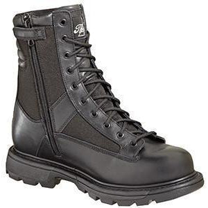 "Thorogood Men's Station GEN-flex2 8"" Side Zip Duty Boot Black-834-7991 7 / Medium / Black - Overlook Boots"