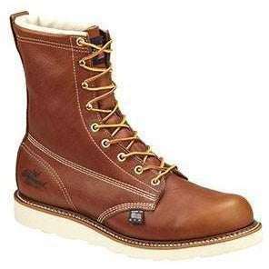 "Thorogood Men's USA Made Amer Heritage 8"" Comp Toe Work Boot 804-4210 8 / Medium / Tobacco - Overlook Boots"