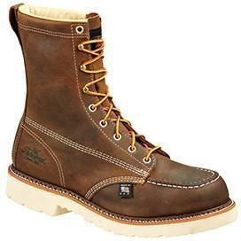 "Thorogood Men's USA Made Amer. Heritage 8"" Stl Toe Work Boot 804-4378  - Overlook Boots"