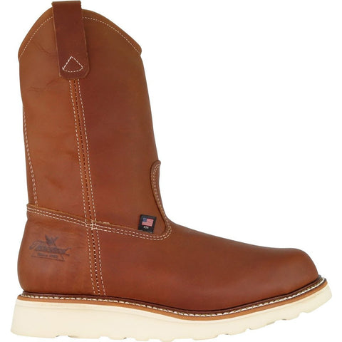 Thorogood Men's USA Made Amer Heritage Stl Toe Wel Work Boot 804-4205 7 / Medium / Tobacco - Overlook Boots