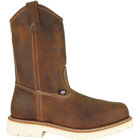 Thorogood Men's USA Made Amer Heritage Stl Toe Wel Work Boot 804-4372 8 / Medium / Brown - Overlook Boots