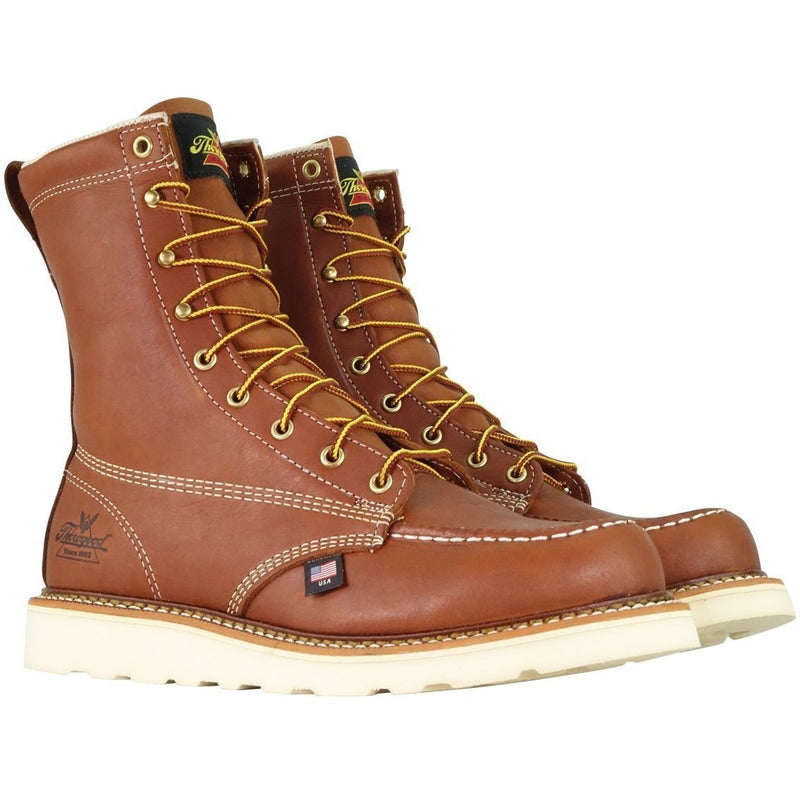 "Thorogood Men's USA Made American Heritage 8"" Work Boot - 814-4201  - Overlook Boots"