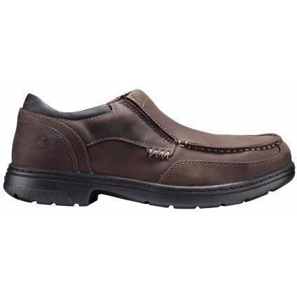 Timberland PRO Men's Branston Alloy Toe Slip-On Work Shoe TB091694214 7 / Medium / Brown - Overlook Boots