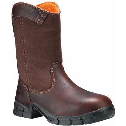 Timberland PRO Men's Excave Steel Toe Pull-on Work Boot - TB087559214 7 / Medium / Brown - Overlook Boots