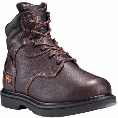 "Timberland PRO Men's Flexshield 6"" Met Guard Work Boot TB050504214 7 / Medium / Brown - Overlook Boots"