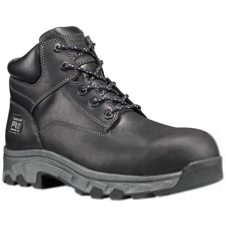 "Timberland PRO Men's Workstead 6"" Comp Toe Work Boot Black TB0A1Q2W001 8.5 / Medium / Black - Overlook Boots"