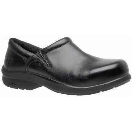 Timberland PRO Women's Newbury Alloy Toe Slip On Work Shoe TB087528001 5.5 / Medium / Black - Overlook Boots