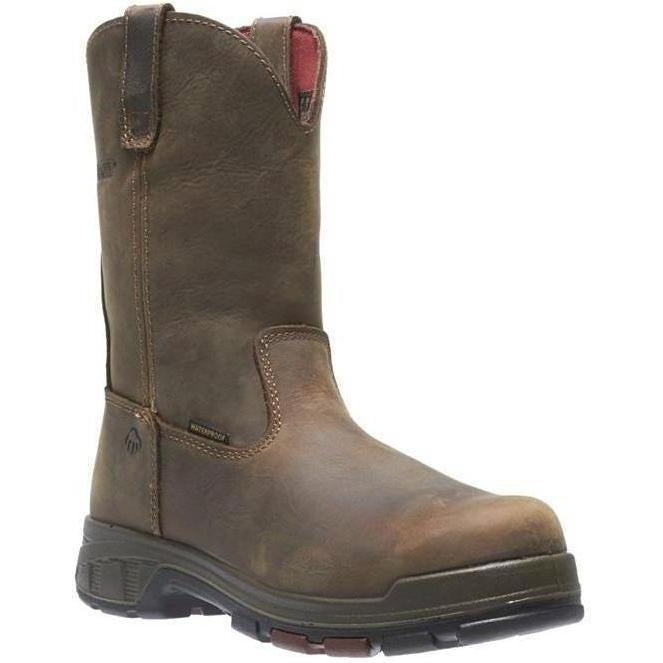 "Wolverine Men's Cabor EPX 8"" PC Dry WP Work Boot - Brown - W10319 7 / Medium / Brown - Overlook Boots"