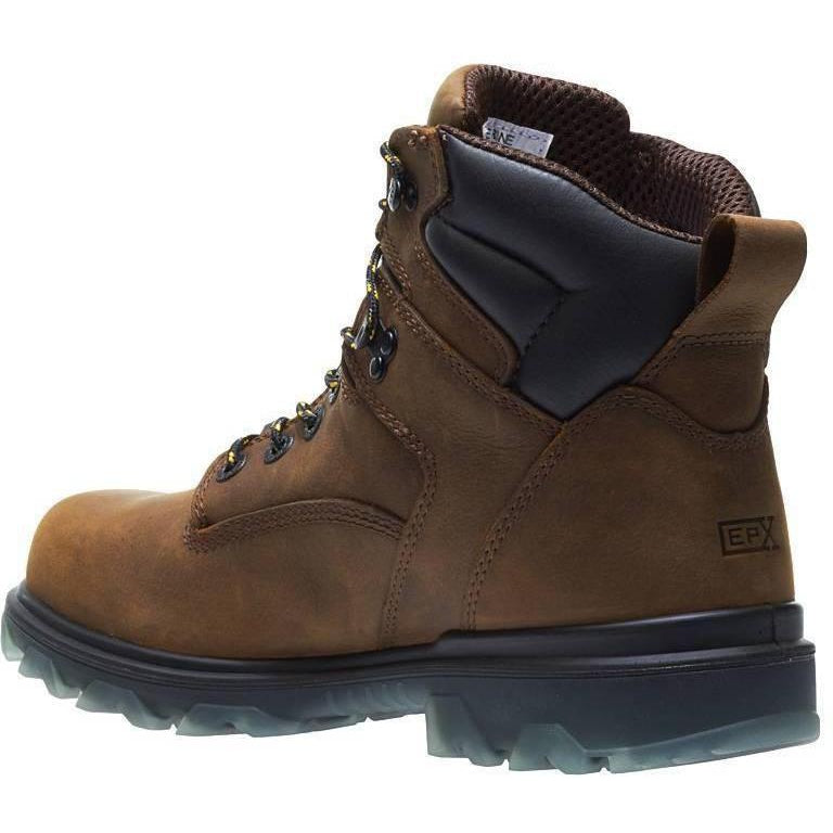 Wolverine Men's I-90 EPX Carbonmax Safety Toe WP Work Boot Brown W10788  - Overlook Boots