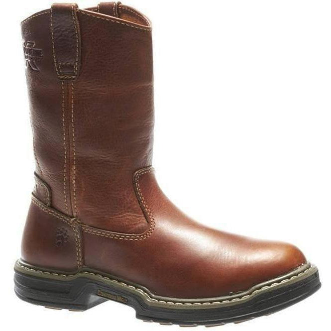 "Wolverine Men's Raider 10"" Wellington Work Boot - Brown - W02429 7 / Medium / Brown - Overlook Boots"