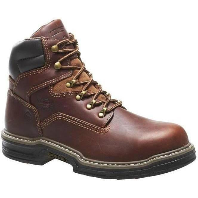 "Wolverine Men's Raider Steel Toe EH 6"" Work Boot - Brown - W02419 7 / Medium / Brown - Overlook Boots"