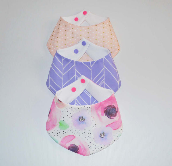 Bandana Bibs - Loveliness Collection