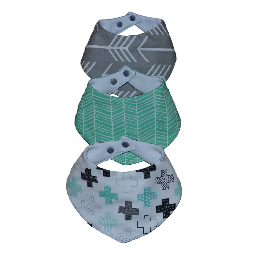 Bandana Bibs - Geo Goodness Collection