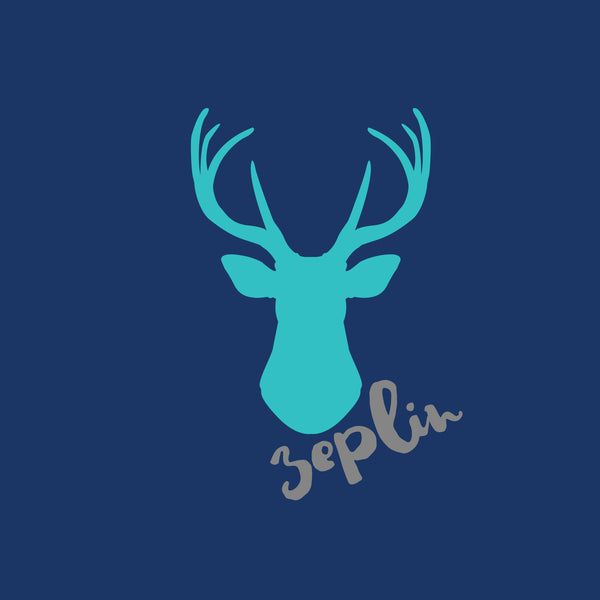 Personalised Organic Blanket - Stag