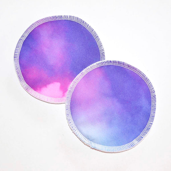 Reusable Breast Pads - Bright Tie Dye