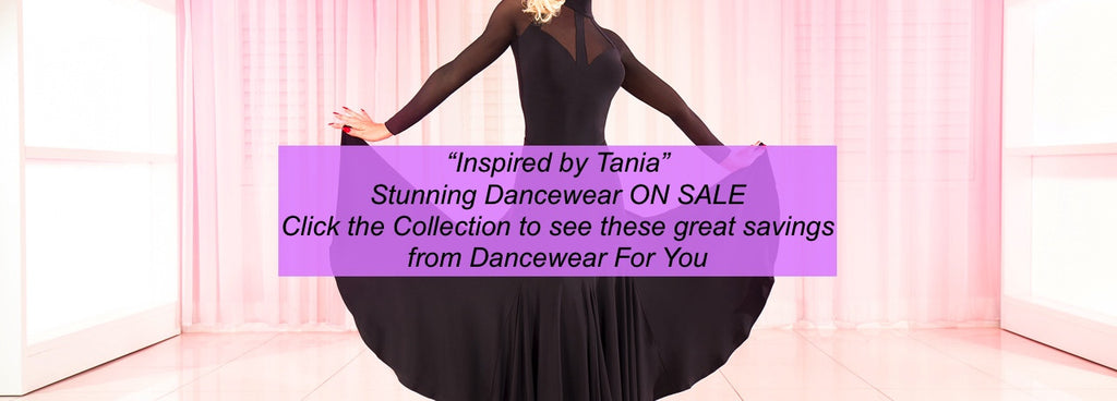Inspired by Tania Kehlet Dancewear ON SALE