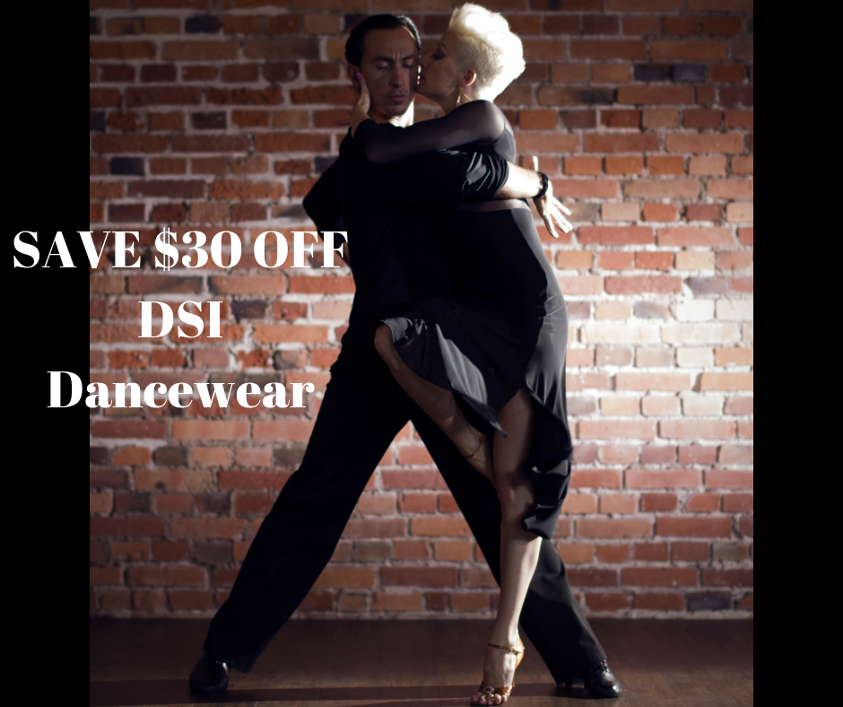 SAVE $30 OFF ALL DSI DANCEWEAR FOR YOU !