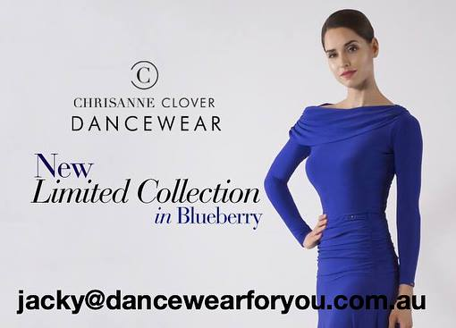 NEW Blueberry Limited Collection from Chrisanne Clover