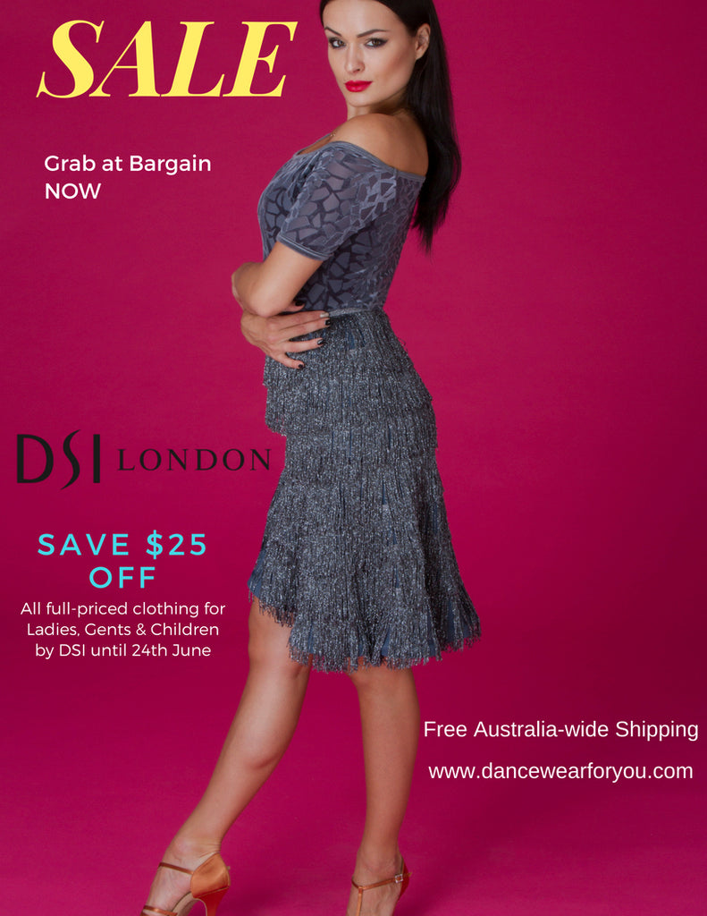 DSI-LONDON ON SALE from Dancewear For You!