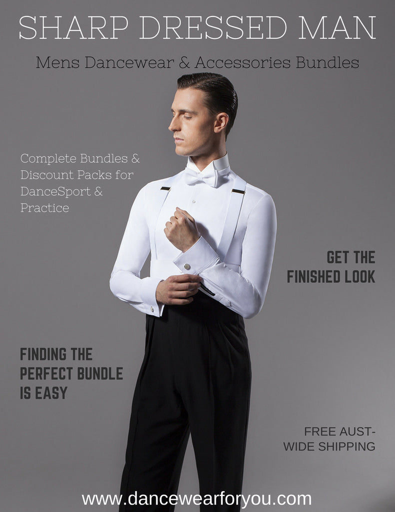 SAVE with Mens Ballroom & Latin Dancewear Bundles from Dancewear For You