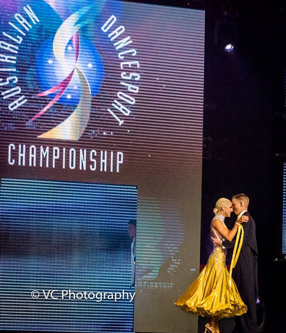 Photos from the Australian Dancesport Championships 2016 with Dancewear For You