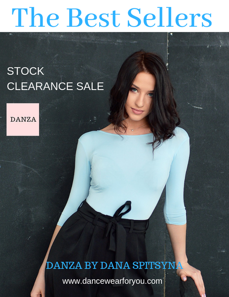 danza dancewear sale, danza by dana spitsyna on sale