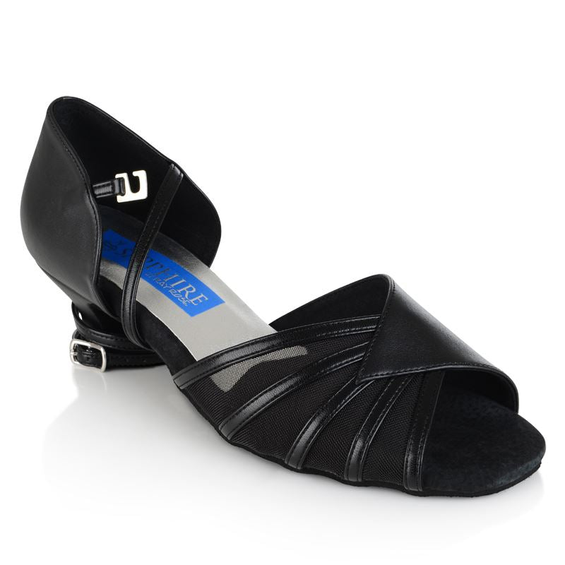 Fuchsia Ladies Dance Shoe Black