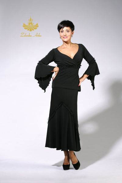 Zdenka Arko Ballroom dance top from Dancewear For You Australia